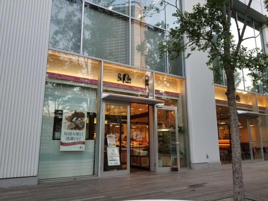 ベルベ豊洲店の外観