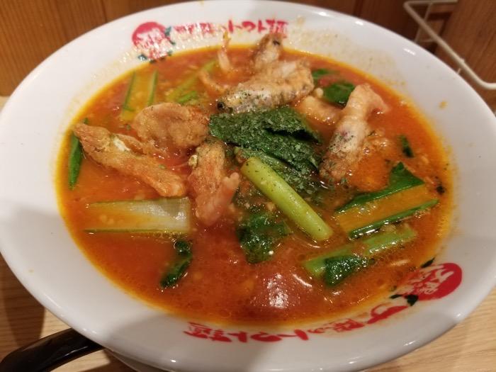 豊洲 ラーメン 太陽のトマト麺 豊洲支店