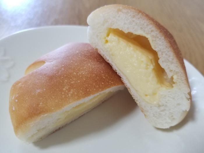 たかたまこむぎ,クリームパン断面