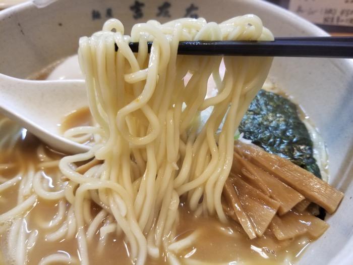 麺屋吉左右の麺