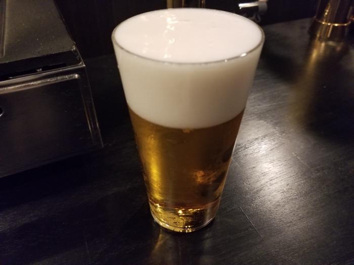 立肉家のビール